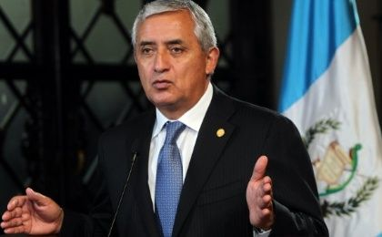 President Otto Perez Molina says Guatemalans are only a fraction of the migrants going to US compared to Asian nations (Photo: EFE)