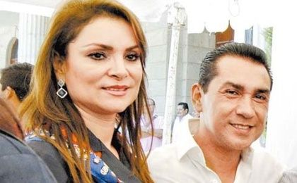 Former mayor of Iguala, Guerrero, Alcalde José Luis Abarca Velázquez (R), and his wife, Maria de los Angeles Pineda, were arrested for their involvement of the disappearance of 43 students.