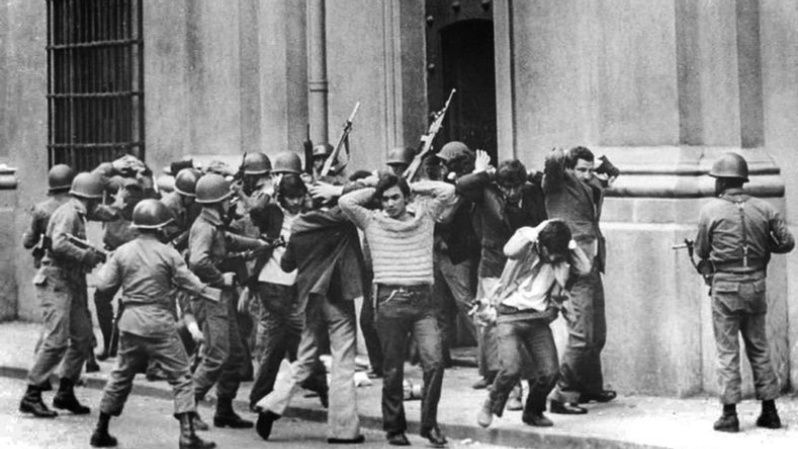 The military coup in Chile led to the disappearance and murder of thousands of civilians.