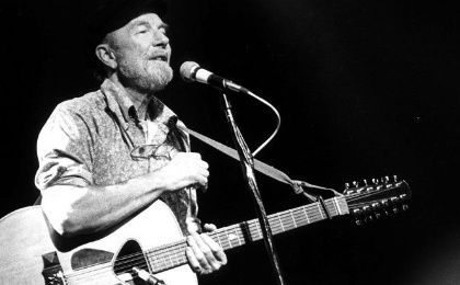 Pete Seeger in 1986