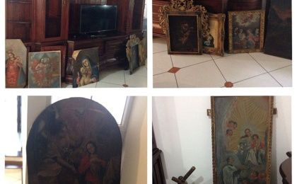Stolen Cultural Heritage Items from Latin America