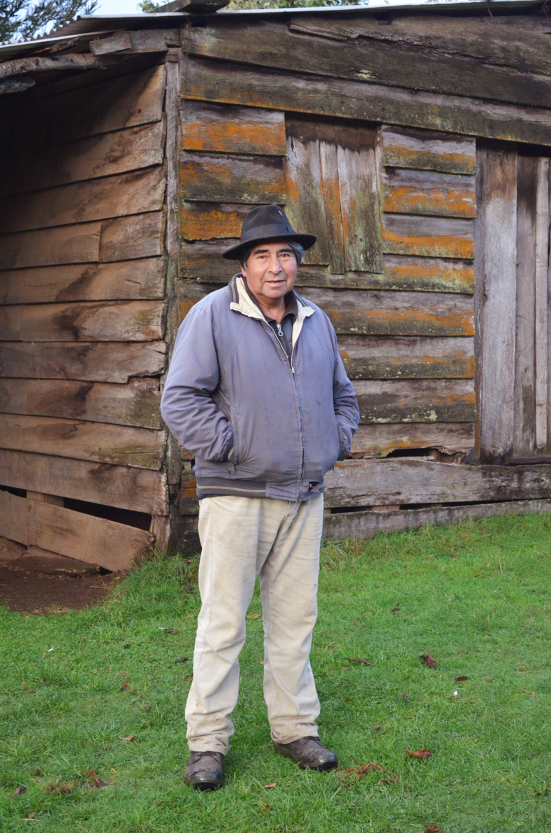 Don Mauricio Caquilpán, is a Mapuche and community leader of the Chanlelfu community in Chile.