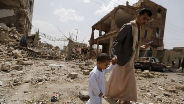 Saudi-led coalition airstrike in Yemen kills 11 civilians