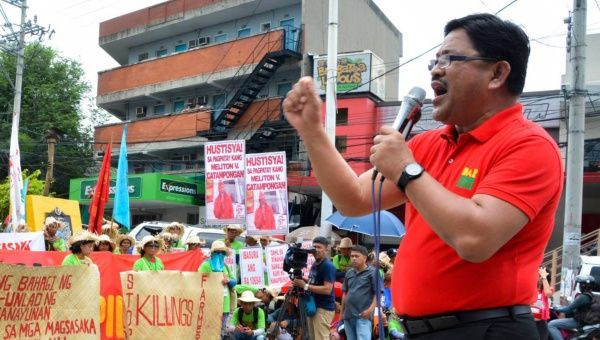 "For decades, Mariano – affectionately known to supporters as ""Ka Paeng"" – was a leader of the militant Peasant Movement of the Philippines or KMP."