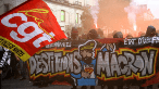 France: Workers Protest Macron