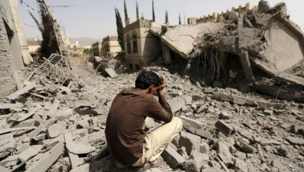 "The massive civilian toll resulting from the Saudi-led coalition bombing campaign has been called a ""humanitarian crisis"" by the United Nations and many observers."
