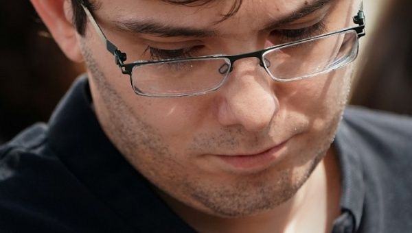 Martin Shkreli Apologizes for Clinton Post
