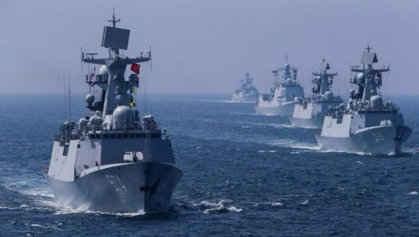 Russia And China Hold Joint Naval Drills Off Korean Coast