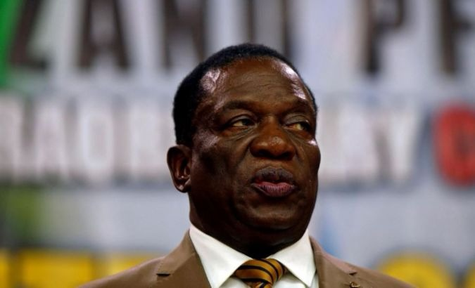 Zimbabwe's interim president, Emmerson Mnangagwa, has declined the opportunity to form a coalition government.