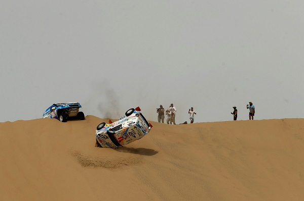 The 40th Edition of the famous Dakar Rally starts in Lima, Peru.