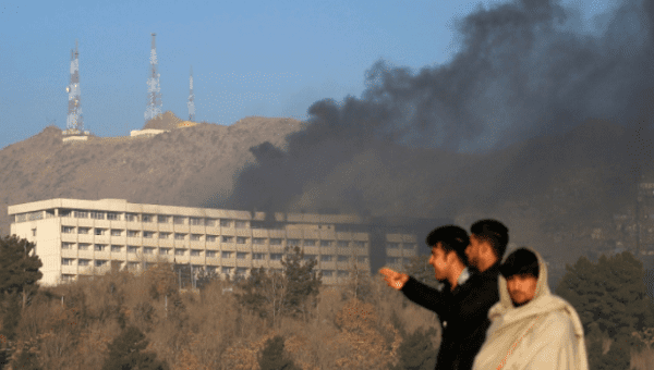 Several dead as gunmen attack top Kabul hotel, take hostages