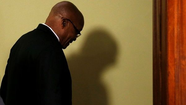 Jacob Zuma has resigned as South African president, ordered by the ruling African National Congress to end his nine scandal-plagued years in power.