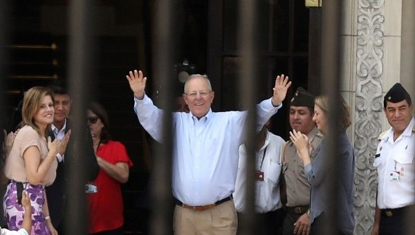 Pedro Pablo Kuczynski, who resigned in the face of impending impeachment, has been banned from leaving the country.