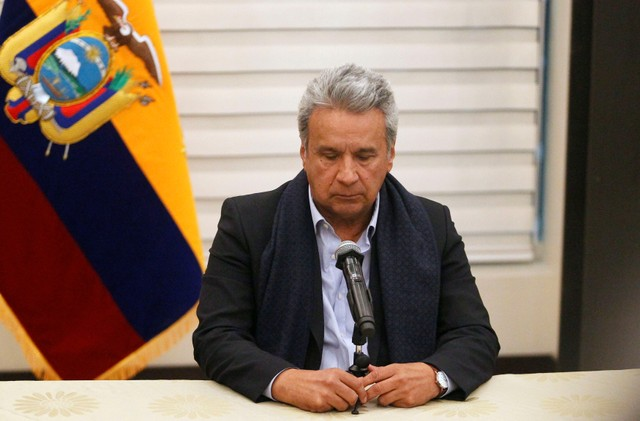 Moreno said state security operations will resume in the north border and announces the Colombian officials were in the country to help coordinate éfforts.
