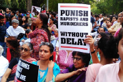 Thousands took to streets in India's capital, New Delhi, denouncing the rape of Asifa and government's inaction.