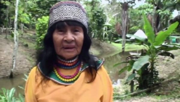 Olivia Arevalo Lomas, 89, was a defender of Indigenous people's rights and a traditional ikaro singer-healer.
