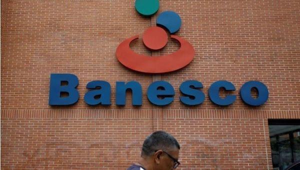 Venezuela seizes control of private bank Banesco and arrests top execs