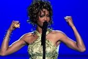 Whitney Houston performs 'Try It On My Own' during the VH1 Divas Duets concert at the MGM Grand Garden Arena in Las Vegas, Nevada, 2003.
