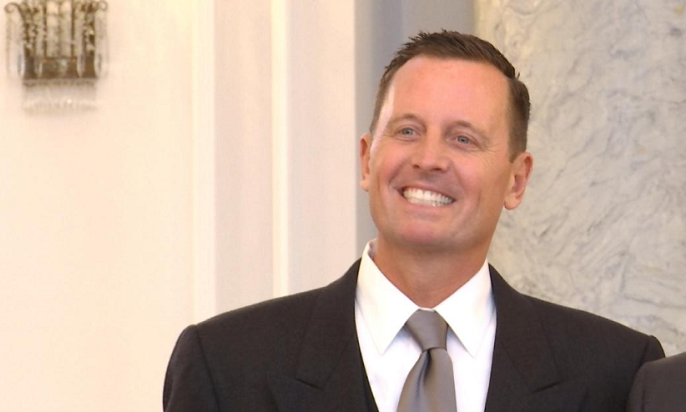 New U.S. ambassador to Germany Richard Allen Grenell.
