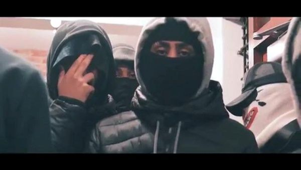 Jordan Bedeau is seen in still taken from video and released by the Metropolitan Police after he and four others were sentenced based on lyrics used in drill music videos they made in London, Britain, June 11, 2018.