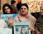 Protesters in Pakistan demonstrate against the murder of seven-year-old Zainab Ansari, raped and killed in January, 2018.