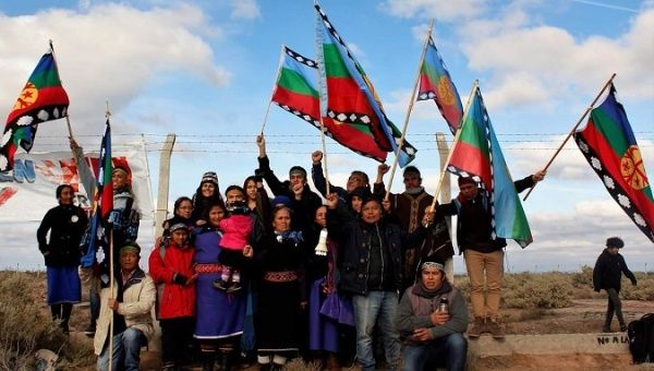 Mapuche people of Neuquen are part of the 60 organizations that oppose the U.S. base.