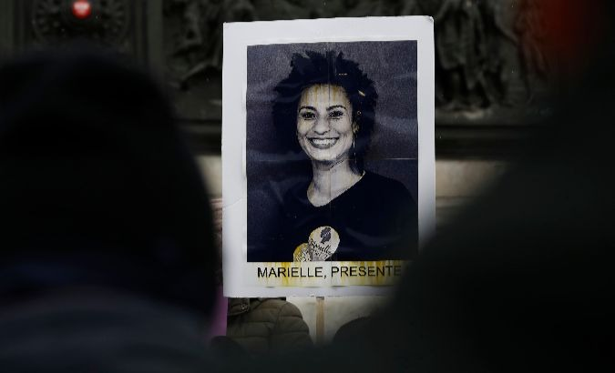Marielle Franco was killed on March 14.