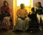 Raramuri people wait for medical attention in Carichi, Chihuahua, in Mexico in this file photo from January 2012.