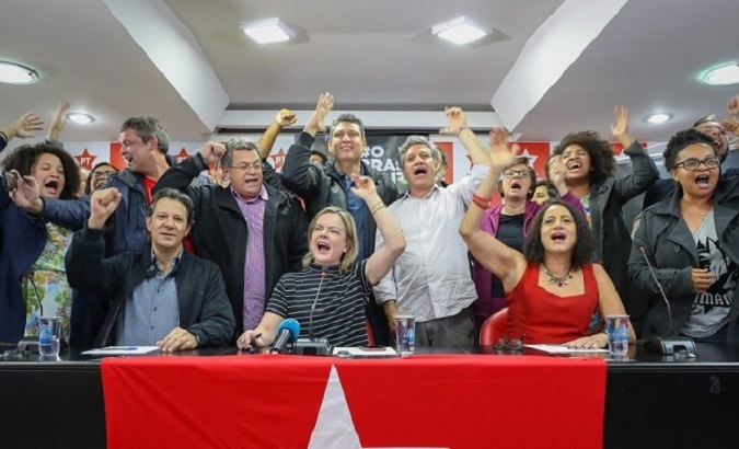 PT and PCdoB have confirmed a left-wing coallition candidacy for the upcoming October presidential elections.