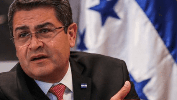 "Honduran President Juan Orlando Hernandez said: ""The meeting aims to strengthen the region"
