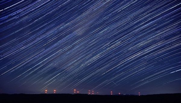 The spectacular Perseids meteor shower, or
