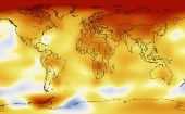 NASA scientists mark average global temperatures from 2005 to 2009.
