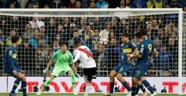 Beautiful goal was scored by Colombian midfielder Juan Fernando Quintero for River Plate, just minutes into overtime.