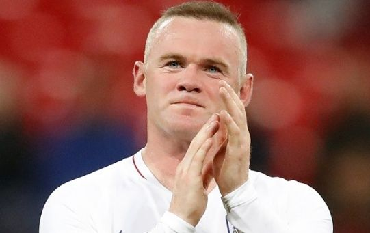 Wayne Rooney bids farewell to the England National Team, in their exhibition game against the U.S.A. Nov.15, 2018. Reuters