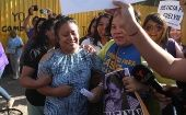 Evelyn Beatriz Hernandez after being released from prison.