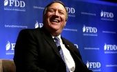 Mike Pompeo was a former CIA director and now Secretary of State.