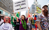 Saturday May 4, 20th annual Global Marijuana March in Toronto, Canada