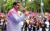 "President Nicolas Maduro said he will ""never give up"" on his efforts to ""to map out a peaceful agenda for the country."""