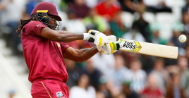 Cricket World Cup - West Indies v Pakistan - Trent Bridge, Nottingham, Britain - May 31, 2019 West Indies' Chris Gayle in action