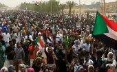 Tens of thousands of people march on the streets demanding the ruling military hand over ruling power to civilians in Sudan.