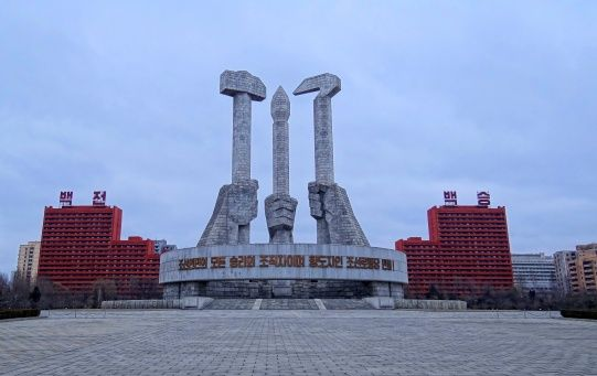 Pyongyang Monument to the Korean Workers Party