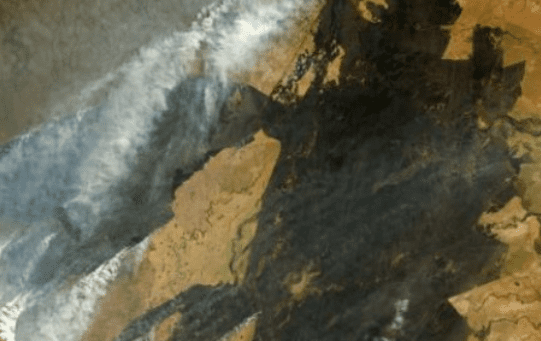 Fires across Paraguay