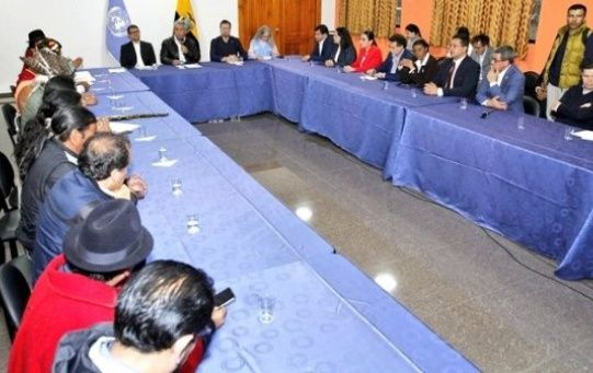 The CONAIE agreed to work together with the government to establish a decree to replace the contentious decree 883.