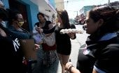 Transgender women in Guatemala receive supplies to cope with quarantine, March 26