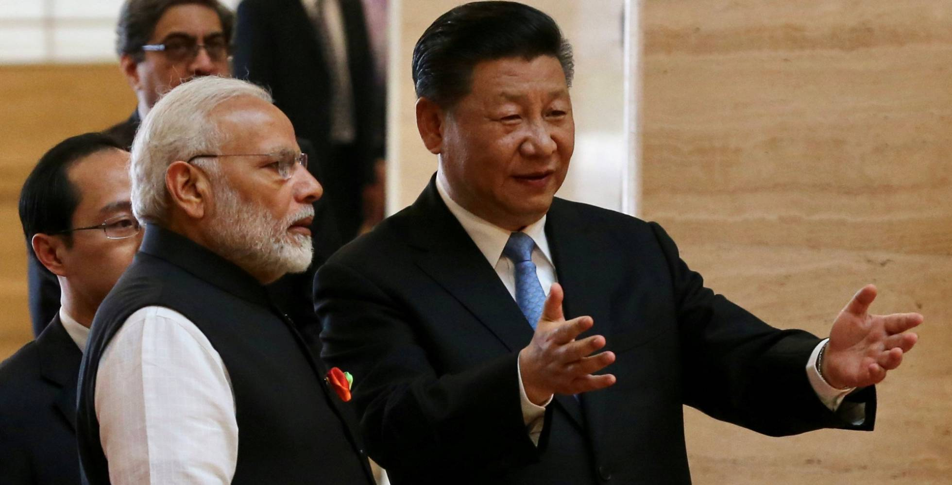 India y China comparten una frontera de cerca de 4.000 km de largo.