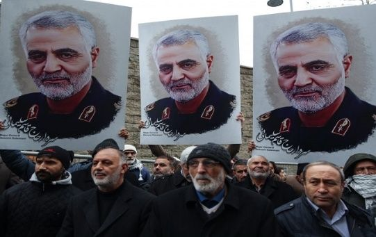 Soleimani was killed during a missile attack on January 3 in Baghdad, Iraq's capital